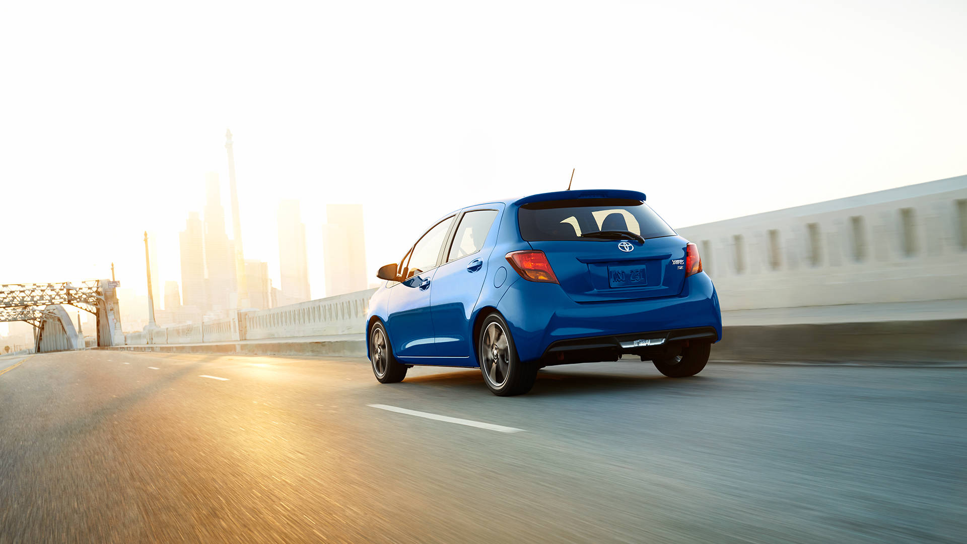 2017 Toyota Yaris Maneuverable and fun