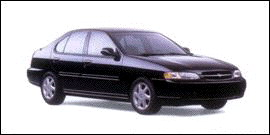 1998 Nissan Altima 4dr Sdn