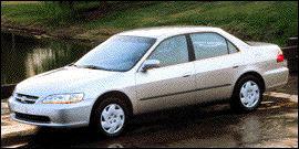 Used 1999 Honda Accord Sdn EX