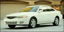 Used 2000 Toyota Camry Solara 2dr Cpe SLE V6 Auto