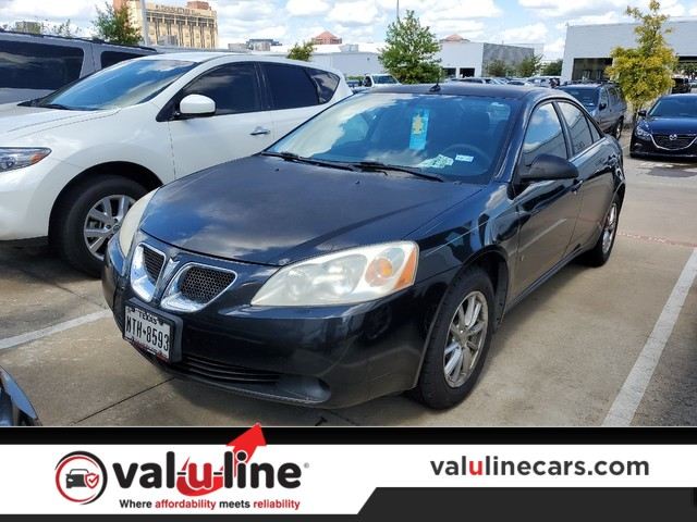 Used 2008 Pontiac G6 1SV Value Leader Sedan