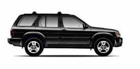 2002 INFINITI QX4 Luxury 4D Sport Utility