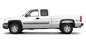 Used 2004 Chevrolet Silverado 1500 LS with plow