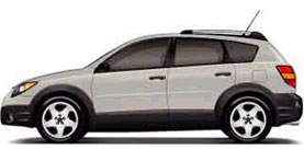 2004 Pontiac Vibe 4D Hatchback