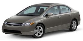 Used 2007 Honda Civic Sdn EX