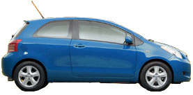 Used 2007 Toyota Yaris 3dr HB Auto