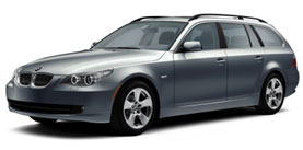Used 2008 BMW 5 Series 535xiT sport wagon premium navi cold weather