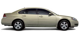 2008 Chevrolet Impala LT 4D Sedan