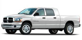 2008 Dodge Ram 2500 4WD Mega Cab 160.5