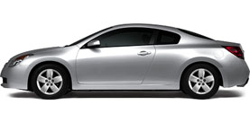 2008 Nissan Altima 2dr Cpe I4 2.5 S