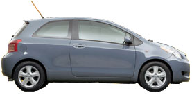Used 2008 Toyota Yaris HB 3dr AUTOMATIC