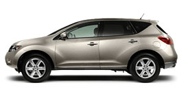 Used 2009 Nissan Murano SL W\ LEATHER BACK UP CAMERA