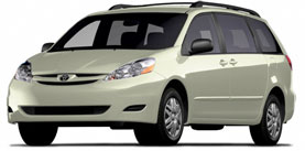 Used 2009 Toyota Sienna 5dr 7-Pass Van LE FWD