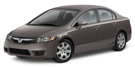 Used 2010 Honda Civic Sedan Automatic LX