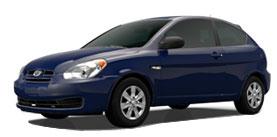 2010 Hyundai Accent 3dr HB