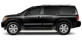 used 2010 Nissan Armada Platinum