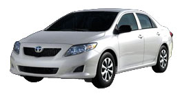 2010 Toyota Corolla LE 4D Sedan