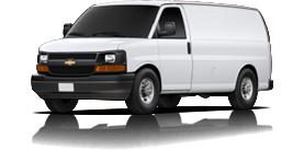2012 Chevrolet Express Cargo Van Work Van
