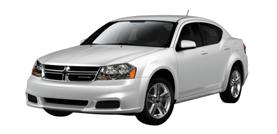 2012 Dodge Avenger SXT 4D Sedan