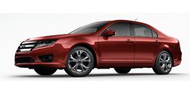 2012 Ford Fusion SE Front-wheel Drive Sedan