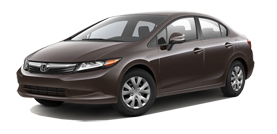 used 2012 Honda Civic Sdn LX