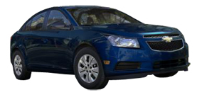 2013 Chevrolet Cruze LS 4D Sedan