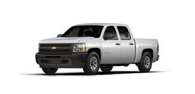 2013 Chevrolet Silverado 1500 LS 4D Crew Cab