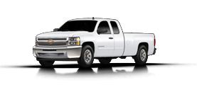 2013 Chevrolet Silverado 1500 4WD Ext Cab 143.5 LT