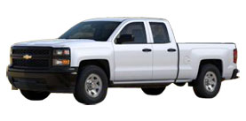 2014 Chevrolet Silverado 1500 2WD Double Cab 143.5 Work Truck