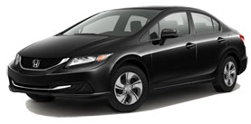 used 2014 Honda Civic Sedan LX