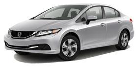 Used 2014 Honda Civic Sedan LX