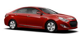 2014 Hyundai Sonata Hybrid Limited 4D Sedan