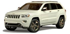 2014 Jeep Grand Cherokee Overland 4D Sport Utility