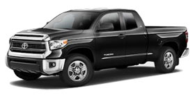 New 2014 Toyota Tundra Double Cab 4x2 5.7L V8 SR5