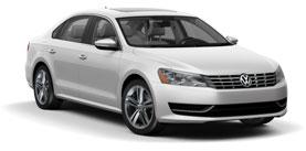 used 2014 Volkswagen Passat TDI SE w/Sunroof & Nav