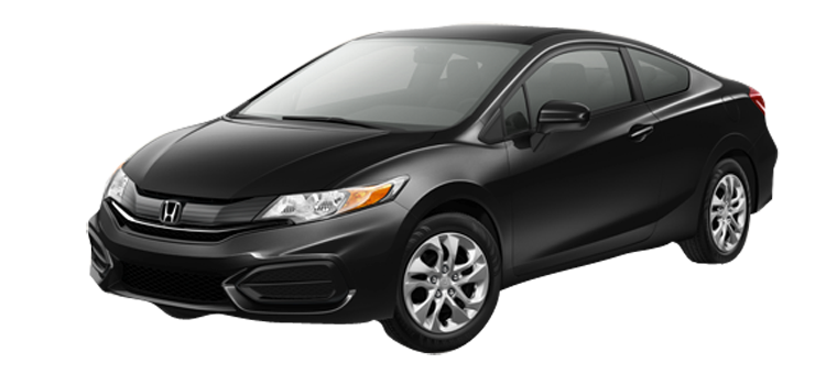 Used 2015 Honda Civic Coupe LX