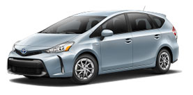 Used 2015 Toyota Prius v Prius v Three