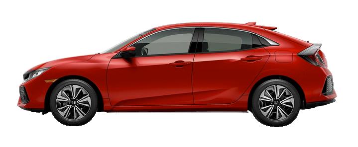 New 2017 Honda Civic Hatchback 1.5T L4 EX