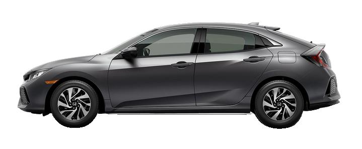New 2017 Honda Civic Hatchback 1.5T L4 LX
