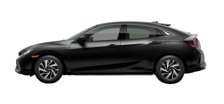 New 2017 Honda Civic Hatchback 1.5T L4 with Honda Sensing LX