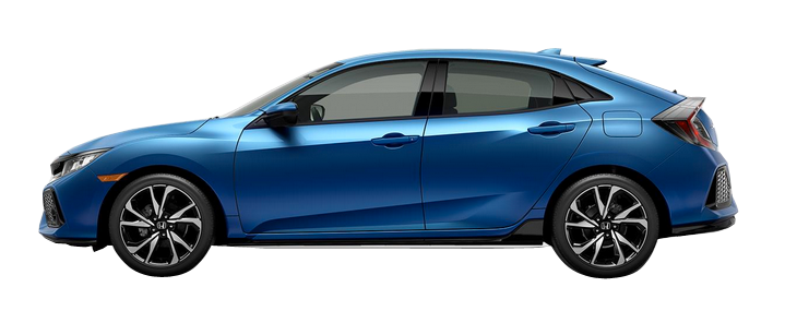 New 2017 Honda Civic Hatchback 1.5T L4 Sport