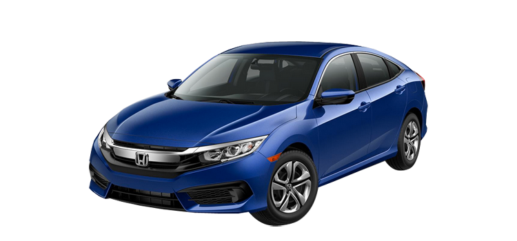 New 2017 Honda Civic Sedan 2.0 L4 LX
