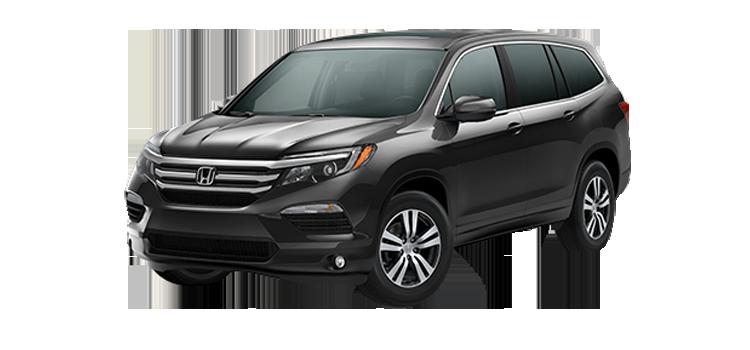 New 2017 Honda Pilot With Honda Sensing EX-L