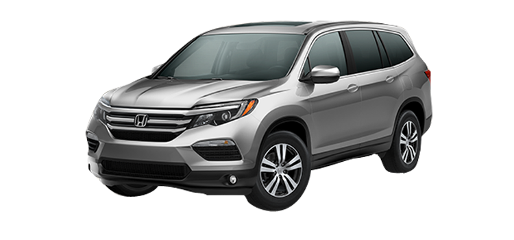 New 2017 Honda Pilot With Navigation EX-L