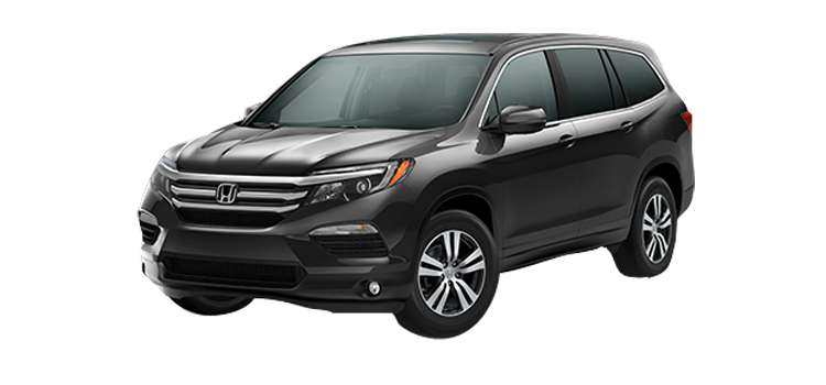 New 2017 Honda Pilot With Rear Entertainment System EX-L