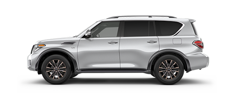 New 2017 Nissan Armada 5.6L V8 Automatic Platinum