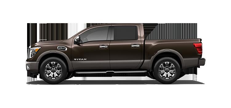 New 2017 Nissan Titan Gas Crew Cab Platinum Reserve