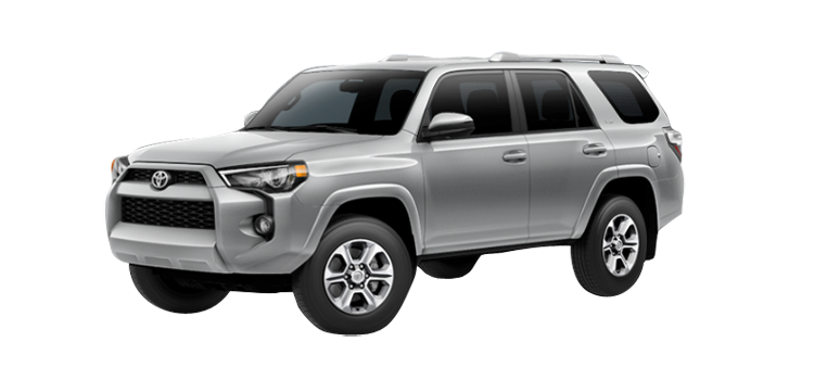 New 2017 Toyota 4Runner 4.0L Automatic SR5