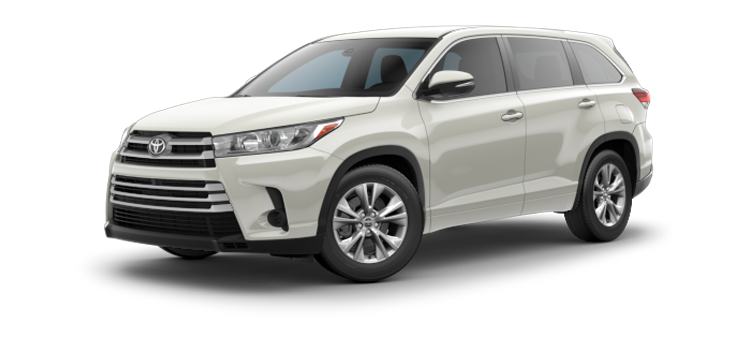 New 2017 Toyota Highlander LE