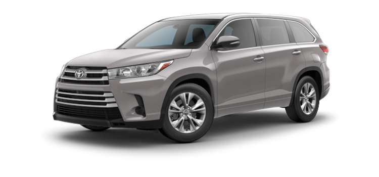 new 2017 toyota highlander 4 cylinder le vin 5tdzarfh5hs025894. Black Bedroom Furniture Sets. Home Design Ideas